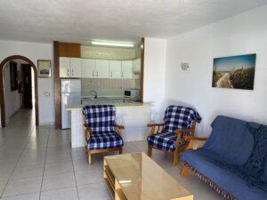 1B1 Kitchen - Living Room